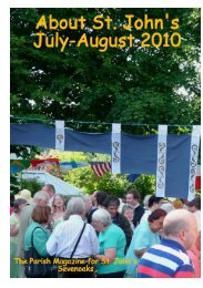 About St John's July-August 2010 - The Church of St John The ...