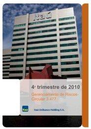 BANCO ITAU UNIBANCO_Circ. 3477_31122010 - Relações com ...