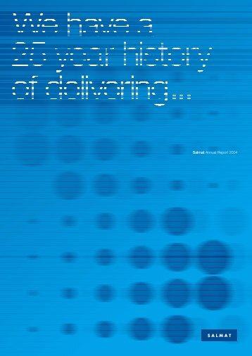 Salmat Annual Report 2004