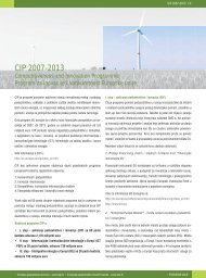 Programi Unije - CIP - Europska poduzetnička mreža Hrvatske