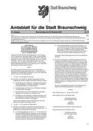 Amtsblatt für die Stadt Braunschweig - Nr. 19/2004