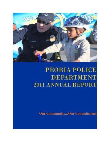 ANNUAL REPORT 2011 FOR PRINT 071612.pub - City of Peoria ...
