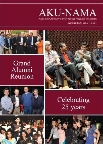 Summer 2009, Vol. 2, Issue 1 - Aga Khan University