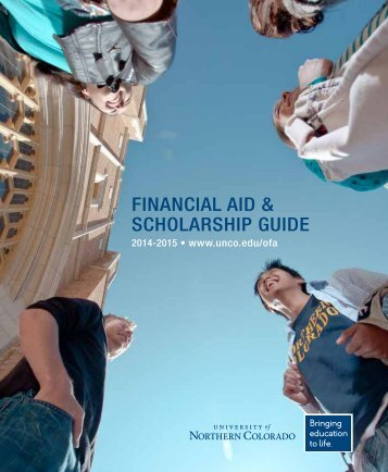 Financial Aid & Scholarship Guide - University of Northern Colorado