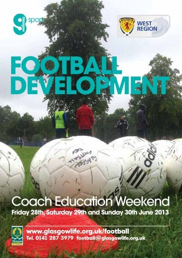 Coach Education Weekend - Scottish Football Association