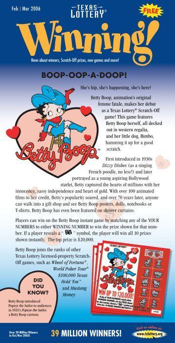 Feb - Texas Lottery