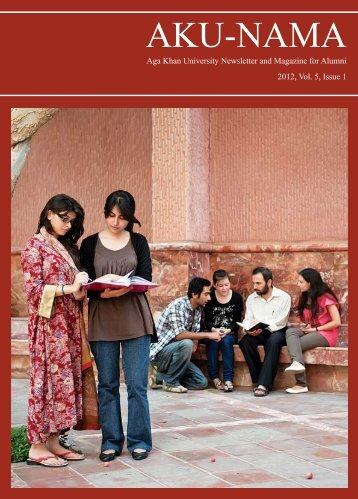 2012, Vol. 5, Issue 1 - Aga Khan University