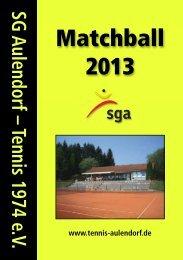 Matchball 2010 - SG Aulendorf-Tennis 1974 eV