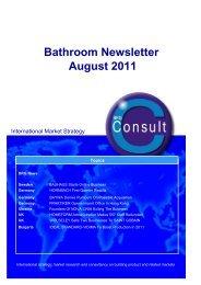 Bathroom Newsletter August 2011 - BRG Building Solutions