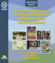 Promoting physical activity and active living in urban ... - Interior Health