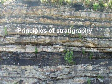 The three main methods used to date sedimentary rocks ...