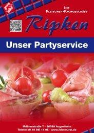 Partyservice Broschüre (PDF, ca. 1 MB)