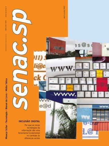 Download desta edição - Senac São Paulo