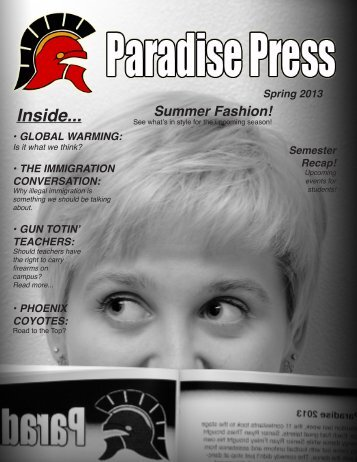 Inside... - The Paradise Valley Unified School District