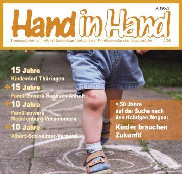 Hand in Hand 02/2005 - Albert-Schweitzer-Verband