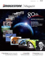 Magazin - Bridgestone Händlerportal