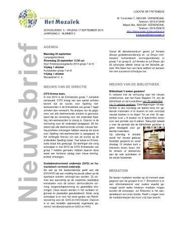 agenda nieuws van de directie nieuws van de bibliotheek mediation