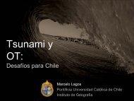Tsunami: Ordenamiento Territorial. Desafíos para ... - Sernageomin