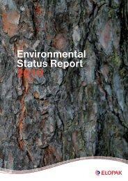 Environmental Status Report 2010 - Elopak