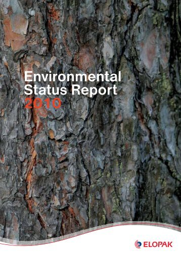 Environmental Status Report 2010 - Elopak