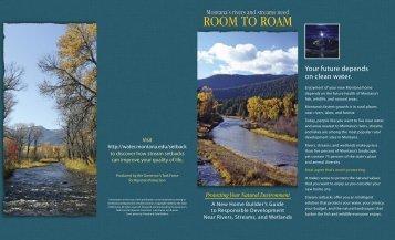 Download Brochure - Montana Water Center
