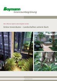 Info-PDF Innenraumbegrünung zum Download