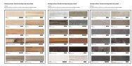 Worktop surfaces / Standard worktop sealer strip colours ... - ALNO
