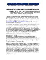 Creación y Diseño en Tecnologías en Comunicación - Facultad de ...
