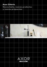 Axor Citterio Nuevo baño, nuevos productos y nuevas ... - Hansgrohe