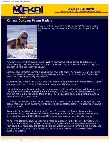 Makai Ocean Lifestyle Magazine > FREE PREVIEW! - Eaton ...