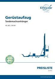preisliste - Albert Böcker GmbH & Co. KG