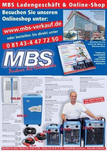 MBS Sonderaktion 2013 - MBS Service
