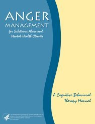 Anger Management Manual - the ATTC Network