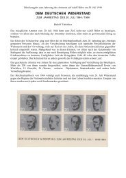 DEM DEUTSCHEN WIDERSTAND - Briefmarkensammler-Verein ...