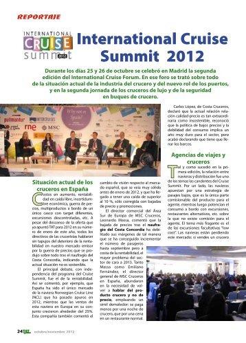 International Cruise Summit 2012 - TAT Revista