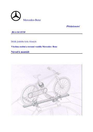 Držák jízdního kola Alustyle_B6 6 84 8550.pdf - Mercedes-Benz