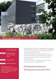 EDV_Basiswissen-Microsoft-Word - Städtisches Krankenhaus Kiel