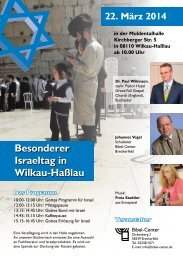 Flyer - Bibel-Center.de