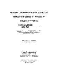 betriebs - und wartungsanleitung für pemserter® series 4