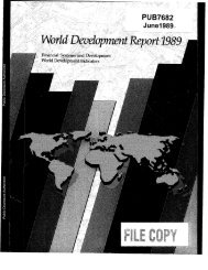 World Bank Document