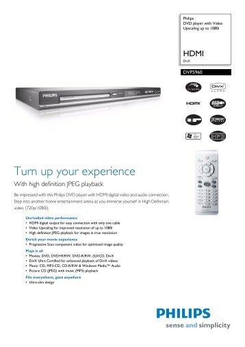 Philips DVP3880K/55 DVD Player Driver Download (2019)