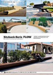 Sitzbank-Serie FLOW - ZIEGLER