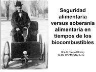 Seguridad alimentaria versus soberanía alimentaria en tiempos de ...