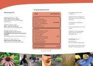 Flyer zum Download - Botanischer Garten