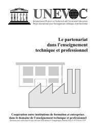 Le partemariat dans l'enseignement technique et ... - intervoc.de