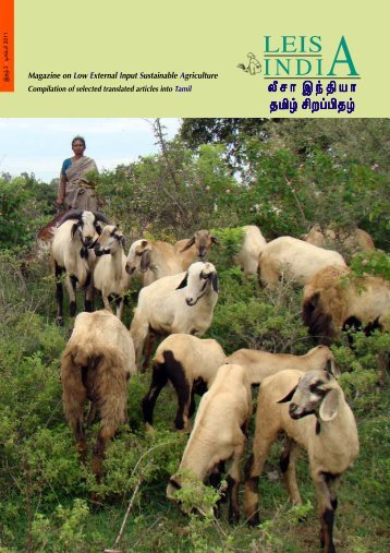 LEISA INDIA Tamil -ISSUE 6-Final to Press.p65