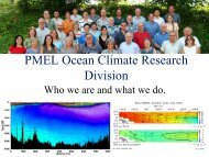 Climate Overview - Pacific Marine Environmental Laboratory - NOAA