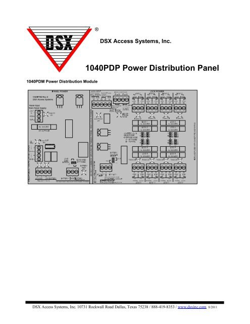 the 1040PDP Typical Wiring. - DSX Access Systems, Inc. | Dsx 1048 Wiring Diagram |  | Yumpu