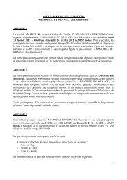 Règlement jeu-concours M6 MOBILE BY ORANGE Jeu Starcrossed