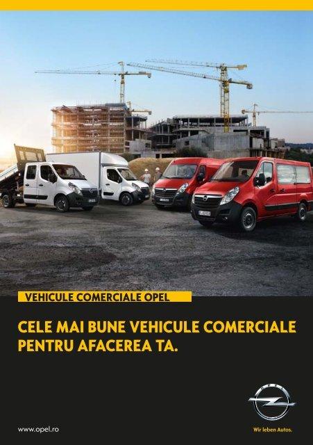 cele mai bune vehicule comerciale pentru afacerea ta. - Opel